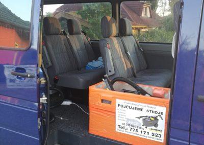 čištění vozů